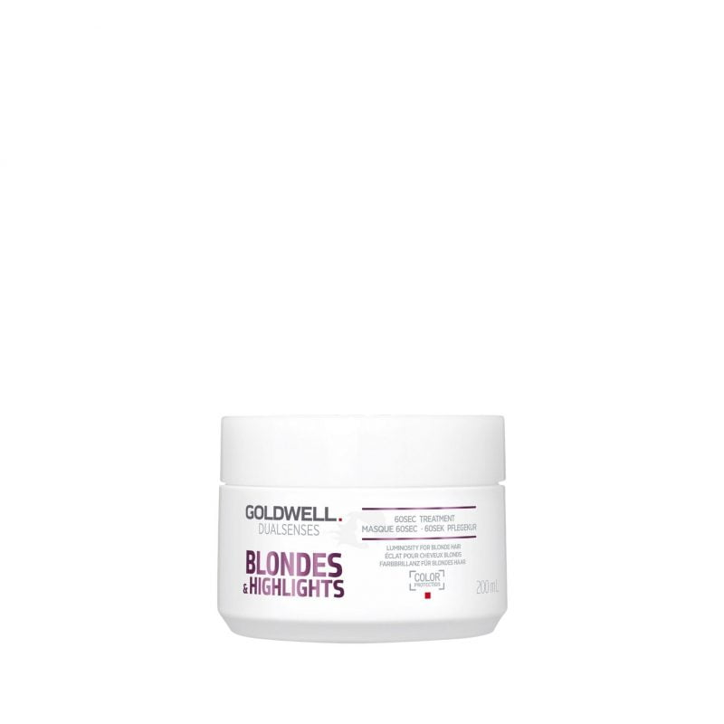 Goldwell Dualsenses Blond & Highlights anti-yellow 60sec treatment